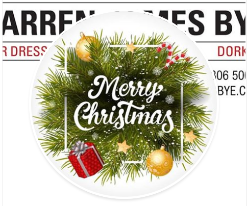 Christmas Time at Darren James Bye Hairdressing